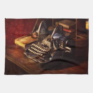 Steampunk - Oliver Schreibmaschine Handtuch