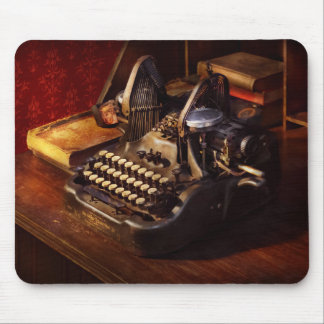 Steampunk - Oliver Schreibmaschine Mousepad