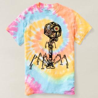 Steampunk_Phage in lebender Farbe T-shirt