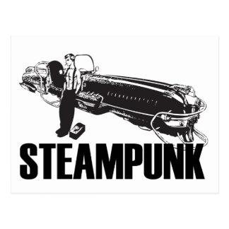 Steampunk Postkarte