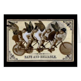 Steampunk Radfahrer Karte