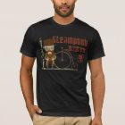 Steampunk Radfahrer T-Shirt