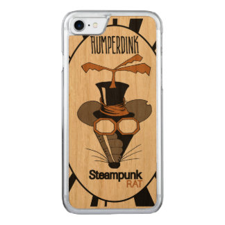 Steampunk Ratte Carved iPhone 8/7 Hülle