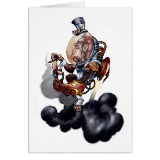 Steampunk Raum-Schimpanse Karte