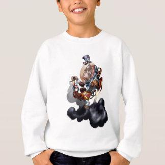 Steampunk Raum-Schimpanse Sweatshirt