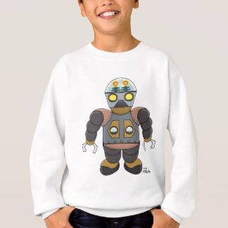 Steampunk Roboter Sweatshirt