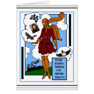 Steampunk Romance Karte
