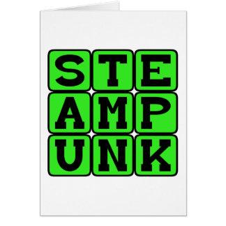 Steampunk, Rückschritt-Lebensstil Karte