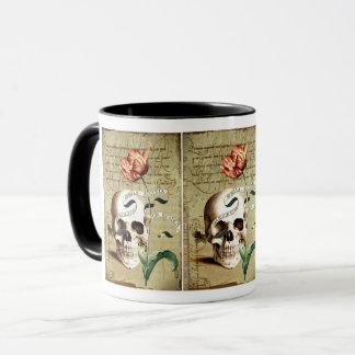 Steampunk Schädel-schreibende Tasse