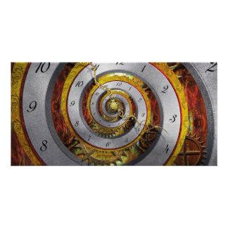 Steampunk - Spirale - unbegrenzte Zeit Photokarte