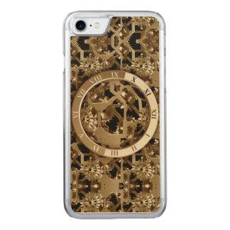 Steampunk stoppt die mechanischen Goldgänge ab Carved iPhone 8/7 Hülle