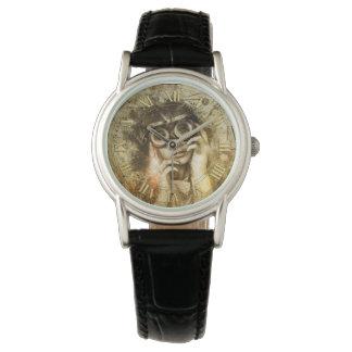 Steampunk Süsse-Uhr Uhr
