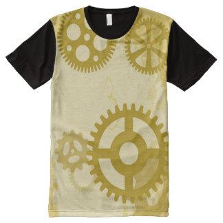 Steampunk T-Shirt Mit Bedruckbarer Vorderseite