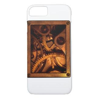 Steampunk übersetzt Uhrwerk-Telefon-Kasten iPhone 8/7 Hülle