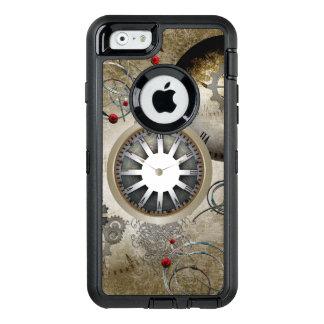 Steampunk, Uhren und Gänge OtterBox iPhone 6/6s Hülle