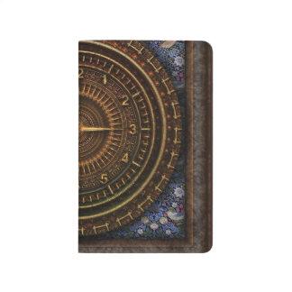 Steampunk Verfasser-Taschen-Notizbuch Taschennotizbuch