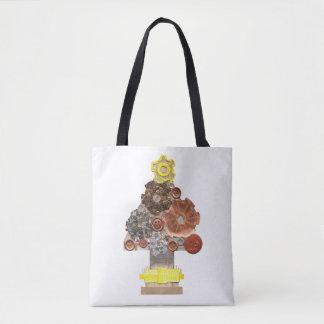 Steampunk Weihnachtsbaum keine Tasche