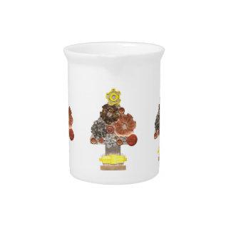 Steampunk Weihnachtsbaum-Krug Getränke Pitcher