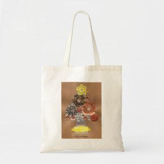 Steampunk Weihnachtsbaum-Tasche Tragetasche