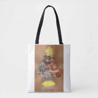 Steampunk Weihnachtsbaum-Taschen-Tasche Tasche