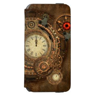 Steampunk, wunderbares Uhrwerk Incipio Watson™ iPhone 6 Geldbörsen Hülle