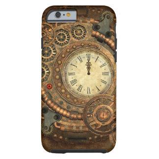 Steampunk, wunderbares Uhrwerk Tough iPhone 6 Hülle