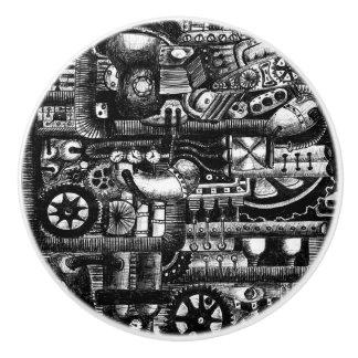 steampunk zeichnen keramikknauf