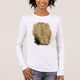 Steatit Pasupati Siegel, Mohenjodaro, 2300-1750 BC Langarm T-Shirt