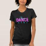 Stechen Sie Tanz-Mädchen an Tshirts
