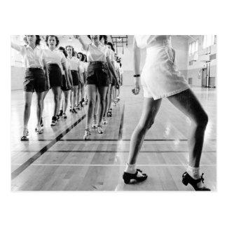 Stechen Sie Tanzen-Klasse, 1942 an Postkarte