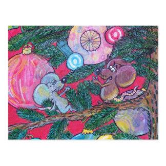 Stechpalme und Engel Postkarten