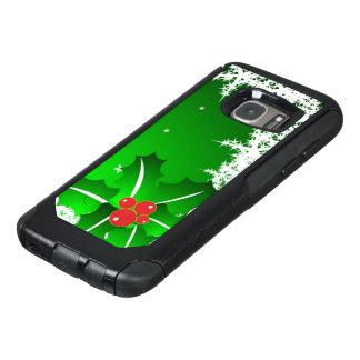 Stechpalmen-Beere auf Eis OtterBox Samsung Galaxy S7 Hülle