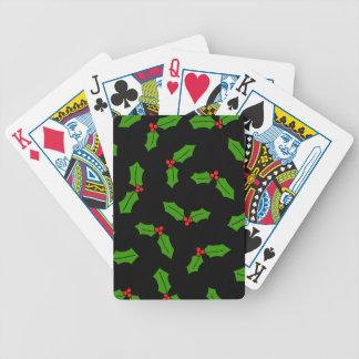 Stechpalmen-Blätter Bicycle Spielkarten