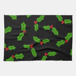Stechpalmen-Blätter Handtuch