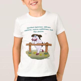 """Stechpalmen-Kuh-""""Umarmungs-Einfachheits-"""" Shirt"""