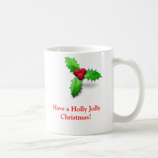 Stechpalmen-lustige WeihnachtsTasse Kaffeetasse