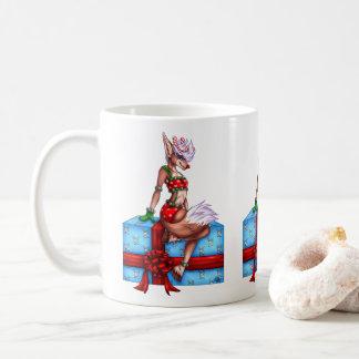 Stechpalmen-lustiges Weihnachten Kaffeetasse