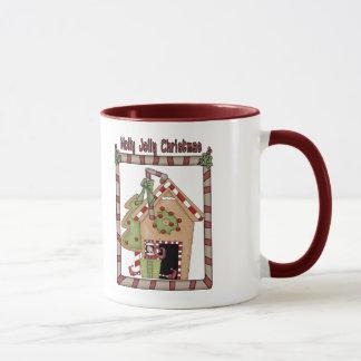 Stechpalmen-lustiges Weihnachten Tasse
