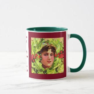 Stechpalmen-Mädchen-Tasse Tasse