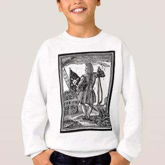 Stede Mützen-Piraten-Porträt Sweatshirt