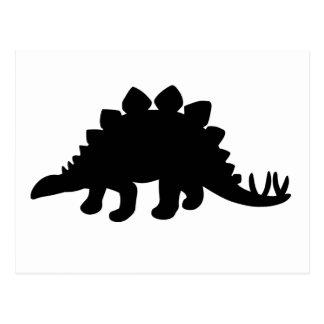 Stegosaurus-Dinosaurier Postkarte