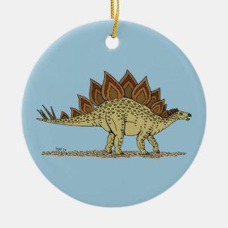 Stegosaurus Keramik Ornament