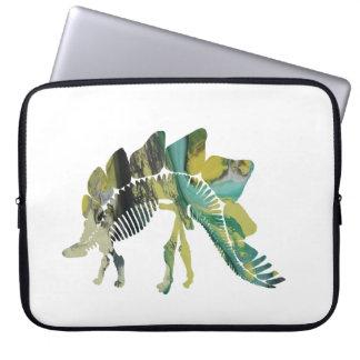 Stegosaurus-Skelett Laptopschutzhülle