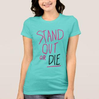 Stehen Sie heraus den T - Shirt der Frauen