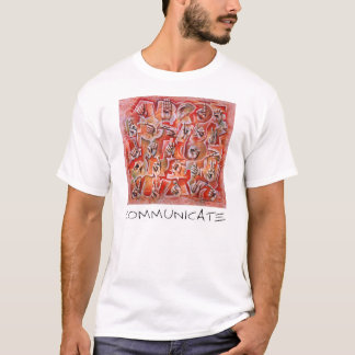 Stehen Sie in Verbindung! T-Shirt