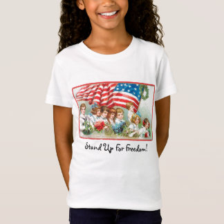 Stehen Sie oben für Freiheit! T-Shirt