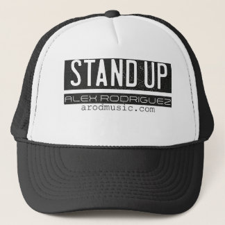 Stehen Sie oben Hut Truckerkappe