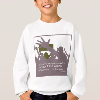 Stehen Sie oben Sweatshirt