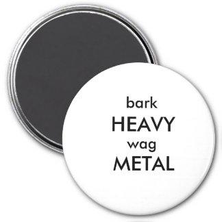 Stehen Sie oben und schreien Sie Runder Magnet 7,6 Cm