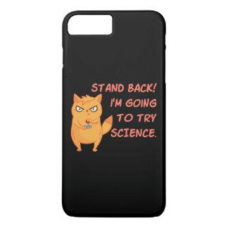 Stehen Sie zurück gehend, Wissenschafts-niedliche iPhone 8 Plus/7 Plus Hülle